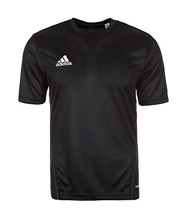 adidas Performance Core 15 Trainingsshirt Herren - schwarz/weiß - L-540