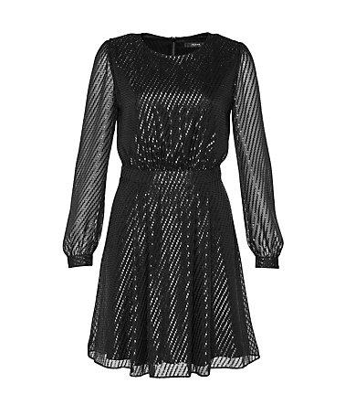 HALLHUBER Kleid aus transparentem Glanzgewebe | Schwab.de | Kleider