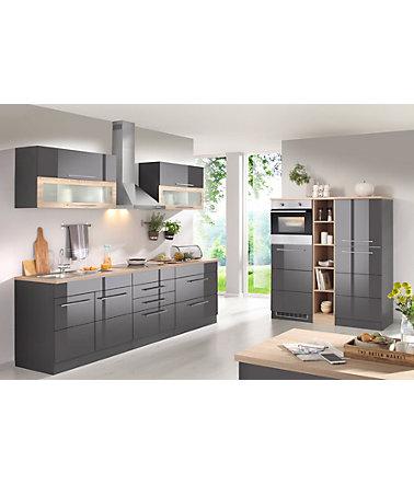 HELD MÖBEL Küchenzeile mit E-Geräten , Breite 430 cm | Schwab.de ...