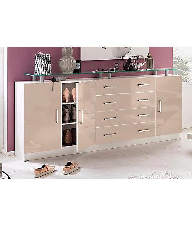 borchardt m bel kommode finn breite 190 cm mit 4. Black Bedroom Furniture Sets. Home Design Ideas