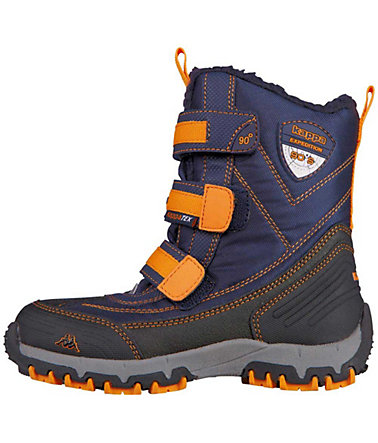 KAPPA Winterstiefel »BEN TEX TEENS« - navy/orange - 3636
