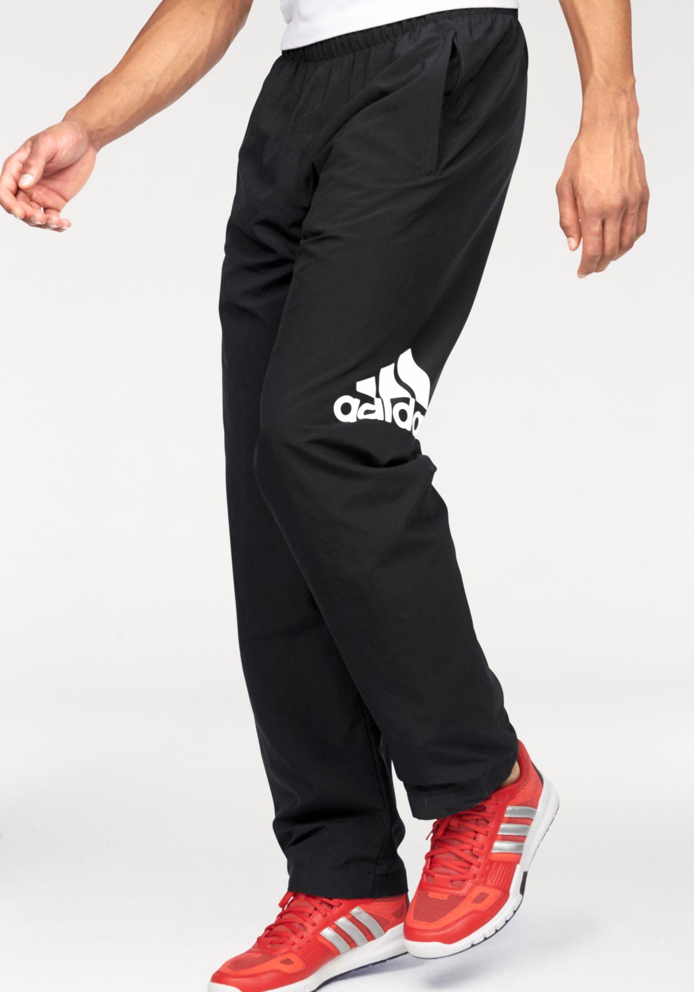 ca23f3cf8b49b0 adidas Performance Sporthose »ESSENTIALS LOGO WOVEN PANT«