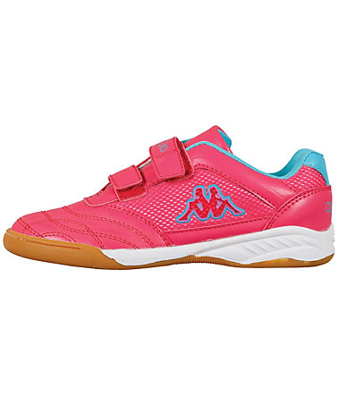 KAPPA Kappa Indoor-Kinderschuhe  »ARROW II KIDS« - pink/türkis - 2525