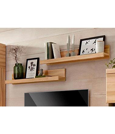 wandregal 2er set breite je 90 cm wandboards. Black Bedroom Furniture Sets. Home Design Ideas