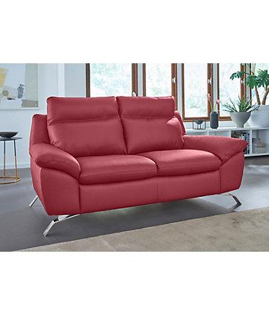 natuzzi editions ledersofa 2 sitzer orlando in zwei lederqualit ten schwab versand sofas. Black Bedroom Furniture Sets. Home Design Ideas