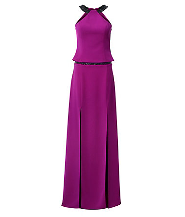 ASHLEY BROOKE by Heine Kleid-Zweiteiler Corsagenoberteil - lila - 3434