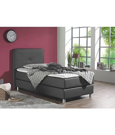 maintal boxspringbett inkl topper schwab versand boxspringbetten ohne bettkasten. Black Bedroom Furniture Sets. Home Design Ideas