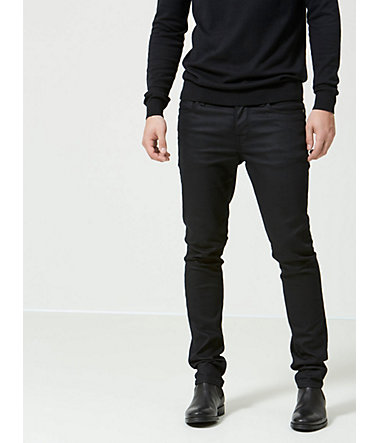 Selected Homme Schwarze Skinny Fit Jeans - Black - 2828 - 32