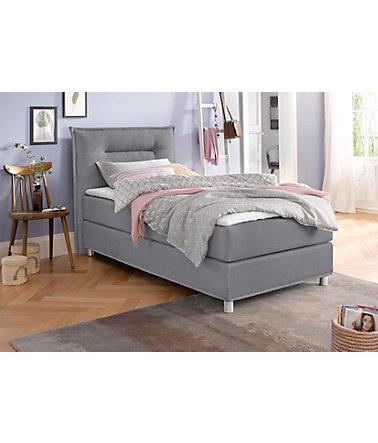 maintal boxspringbett inkl topper schwab versand boxspringbetten ohne bettkasten. Black Bedroom Furniture Sets. Home Design Ideas