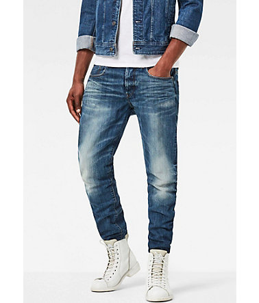 G-Star Tapered-fit-Jeans »3301 Tapered« - medium-aged - 3232 - Länge32
