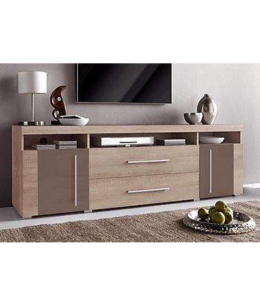 lowboard breite 182 cm lowboards. Black Bedroom Furniture Sets. Home Design Ideas