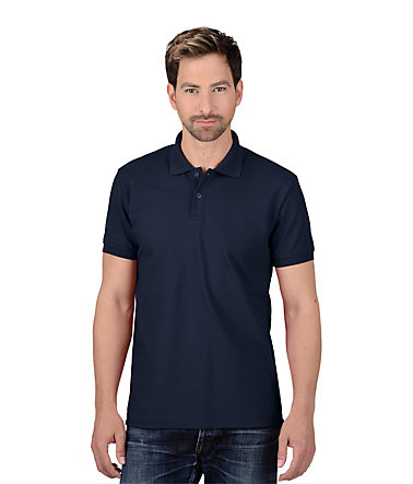 TRIGEMA Polo-Shirt - Slim-Fit - navy - L0