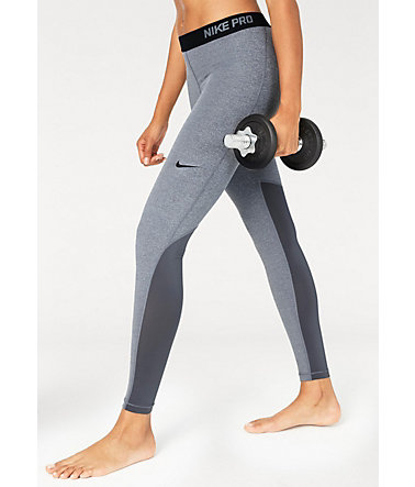 Nike Funktionstights »PRO HYPERCOOL TIGHT« - grau - L(40)0 - Normalgrößen