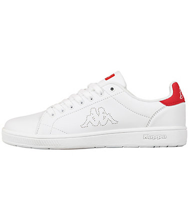 KAPPA Sneaker »COURT« - white/red - 4646