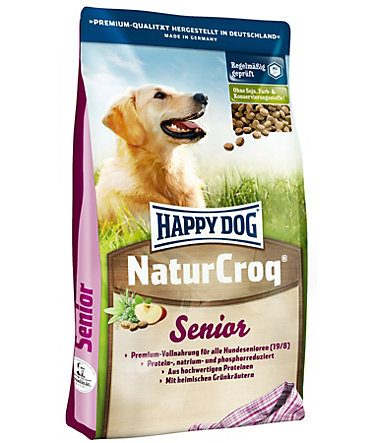 Happy Dog Hundetrockenfutter »NaturCroq Senior«, 15 kg - 15kg