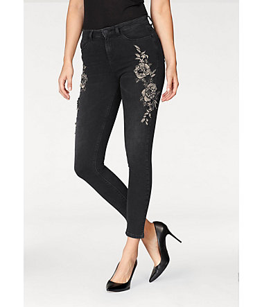 Melrose Skinny-fit-Jeans - black-denim - 3232 - Normalgrößen