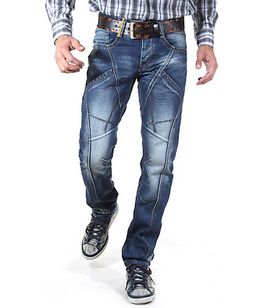 R-NEAL Jeans Regular Fit - dunkelblau - 3030 - 34