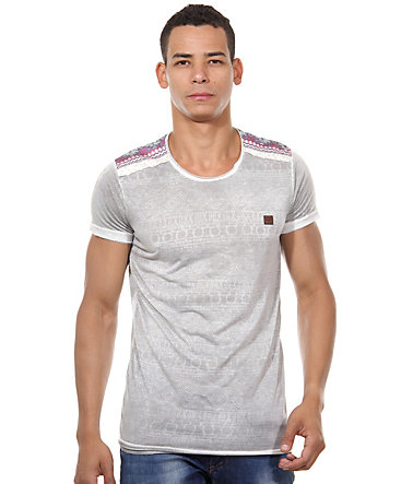 R-NEAL T-Shirt Rundhals slim fit - anthrazit - L0