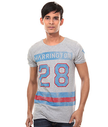 CATCH T-Shirt Rundhals slim fit - grau - L0