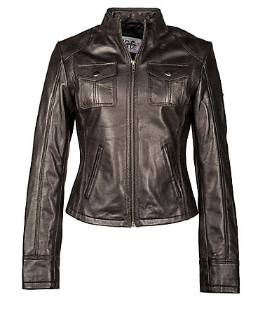 JCC Lederjacke, Damen »Biggie« - black - 3434