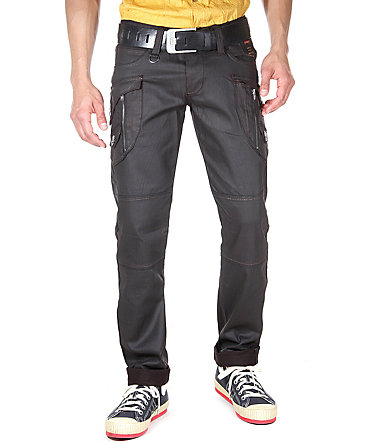KINGZ Jeans regular fit - braun - 2929 - 34