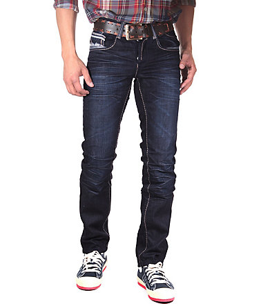 R-NEAL Jeans straight fit - dunkelblau - 3030 - 34