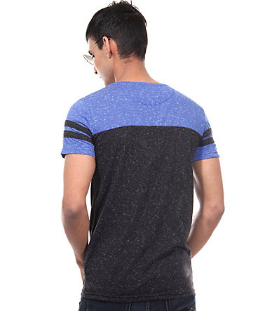 CATCH T-Shirt Rundhals slim fit - blau - L0