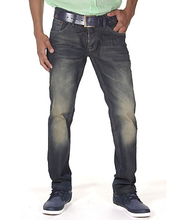 Bright Jeans Hüftjeans Regular Fit - dunkelblau - 2929 - 32