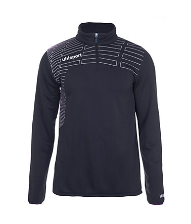 UHLSPORT Match 1/4 Zip Top Kinder - marine/weiß - S-1640