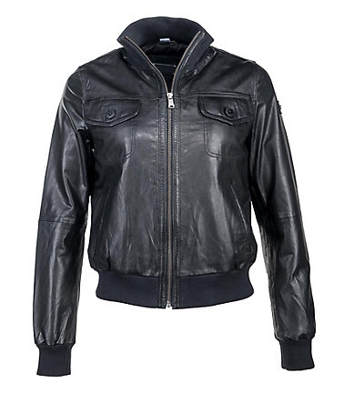 JCC Lederblouson Damen 730038 - black - 3636