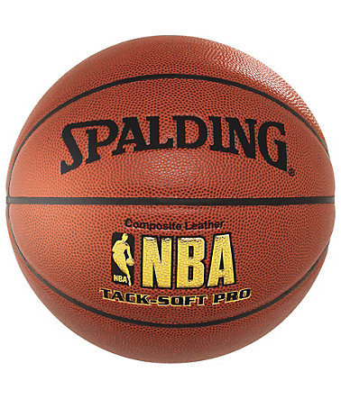 SPALDING NBA Tack-Soft Pro (74-190Z) Basketball - braun/orange
