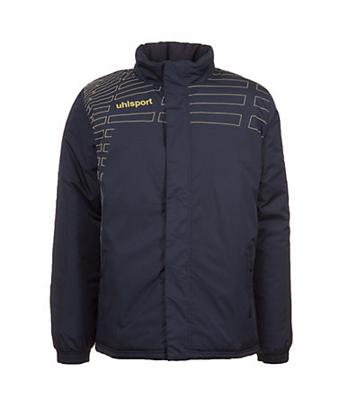 UHLSPORT Match Coach Jacke Kinder - schwarz/gold - S-1640