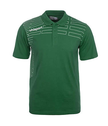 UHLSPORT Match Polo Shirt Kinder - lagune/weiß - S-1640