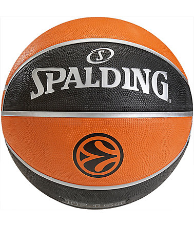 SPALDING Euroleague TF 150 Outdoor Basketball - braun
