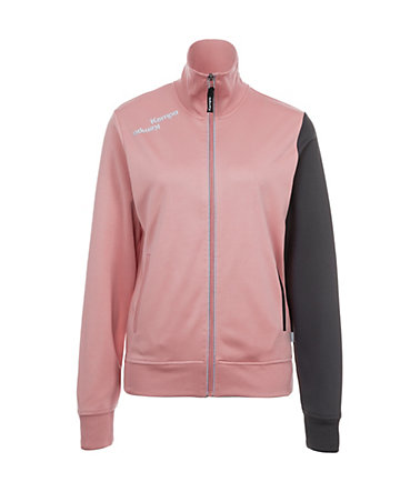 KEMPA Blue Track Top Damen - rose/anthrazit - L-400