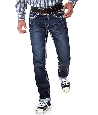 R-NEAL Jeans Regular Fit - dunkelblau - 2929 - 32