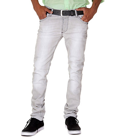 KINGZ Stretchjeans regular fit - grau - 2929 - 34