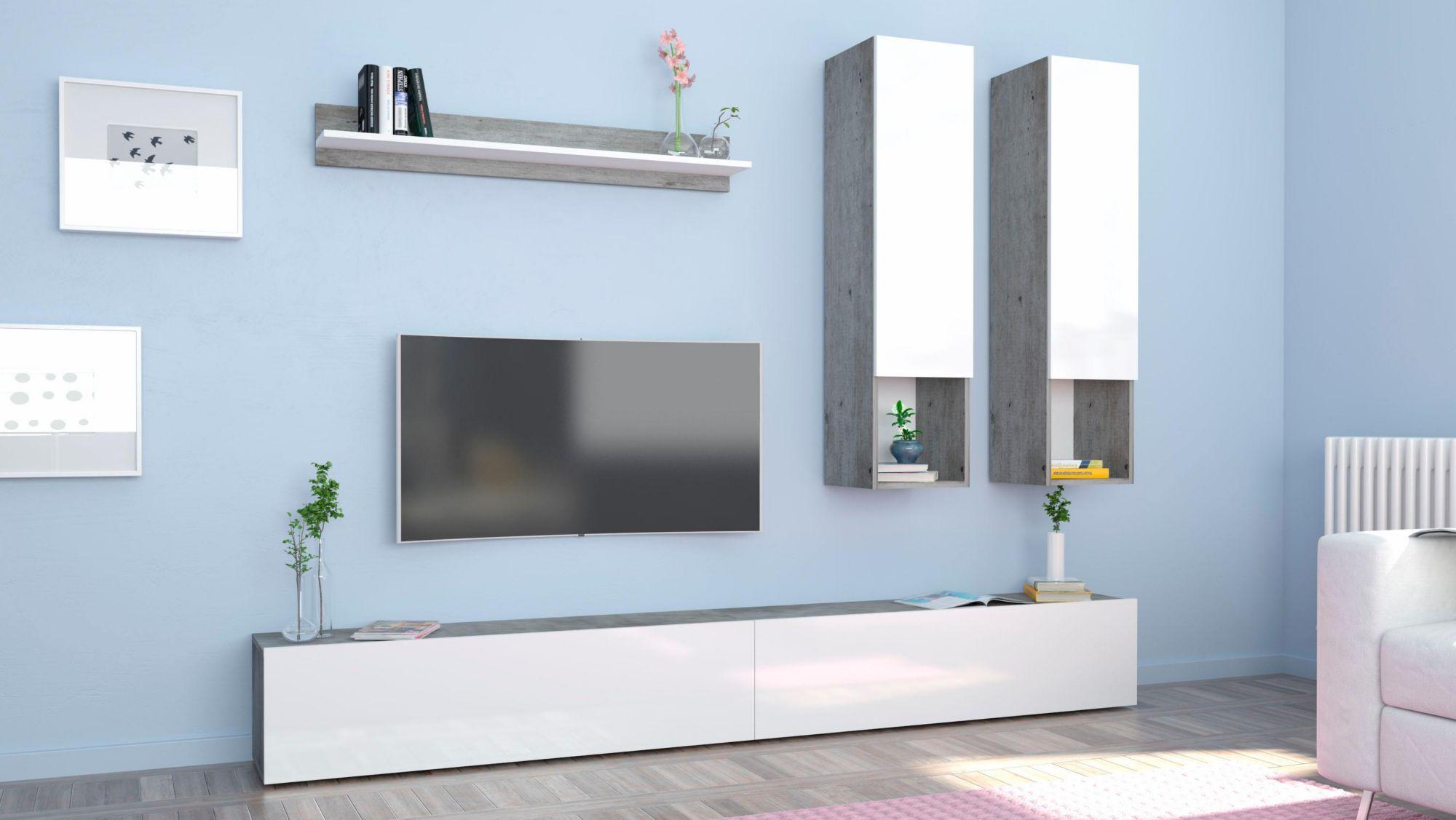 Tecnos Wohnwand (5-tlg.) | Schwab.de | Wohnwände & TV-Möbel