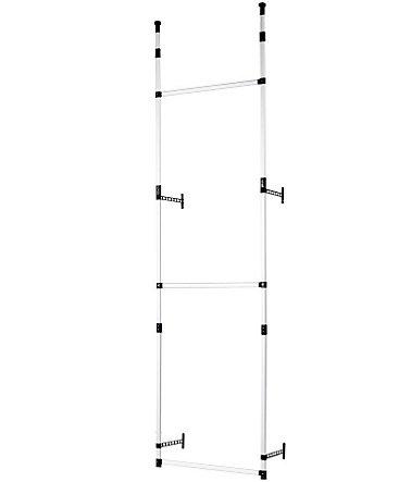 heine home ordnungs regalsystem mit 3 stangen. Black Bedroom Furniture Sets. Home Design Ideas