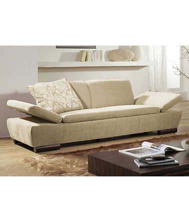 Sofa 3-sitzig, EMP, Made in Germany - 200(=creme)