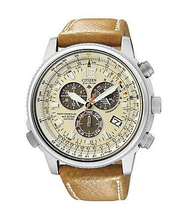 Citizen Funkchronograph »AS4020-44B« - braun