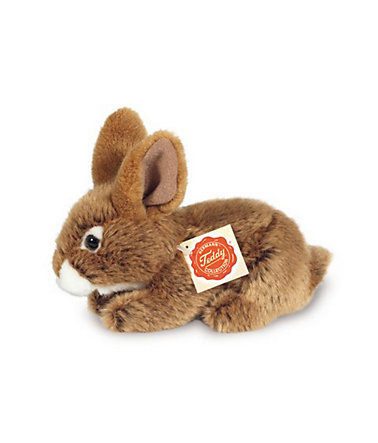 Teddy Hermann® COLLECTION Plüschtier, »Hase sitzend, braun, 19 cm« -