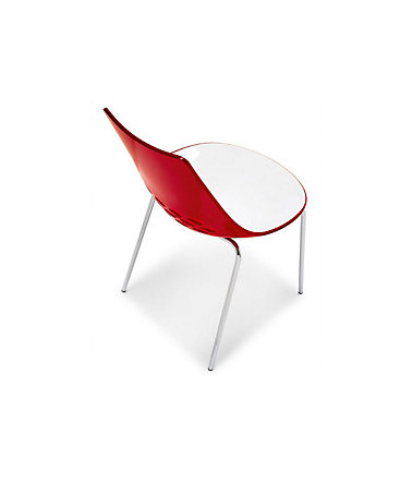 connubia by calligaris Stühle »CB/1059 Jam«, (2 Stck.) - weiß/rot