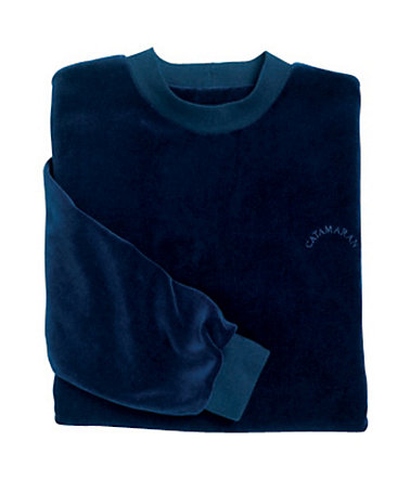 Catamaran Nicki-Pullover mit »Catamaran«-Stickerei - marine - 44/4644