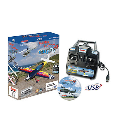 JAMARA, Flugsimulator, »Easy Fly 4 Starter Set GC inkl. Easy-Commander (GC) -