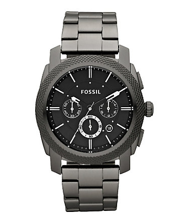 "Fossil, Chronograph, ""MACHINE, FS4662"" -"