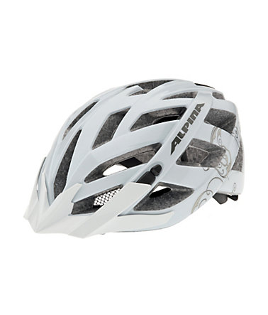 Fahrradhelm, Alpina, »PANOMA«, Made in Germany - Größe:52-57cm - white-prosecco