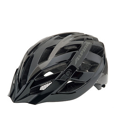 Fahrradhelm, Alpina, »PANOMA«, Made in Germany - Größe:52-57cm - black-antracite