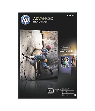 HP Fotopapier »HP Advanced Fotopapier 10x15 cm« - weiß