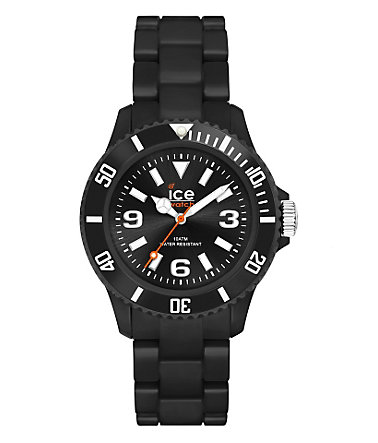 ice-watch Quarzuhr »ICE-SOLID Black Unisex, SD.BK.U.P.12« - schwarz